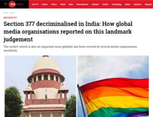 Zeenews screenshot © Zeenews